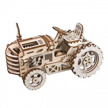 Robotime Tractor Ξύλινη Κατασκευή LK401