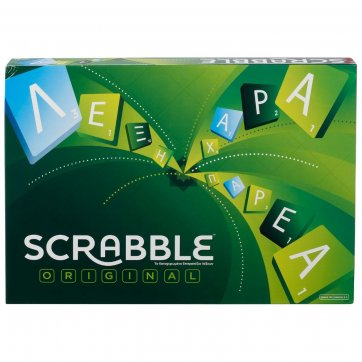 MATTEL GAMES SCRABBLE ORIGINAL MATTEL GAMES