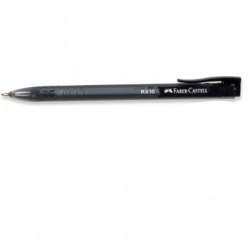 FABER - CASTELL ΣΤΥΛΟ FABER-CASTELL RX 10 1,0mm ΜΑΥΡΟ 12308319